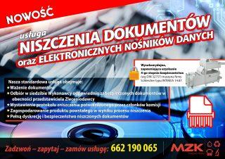Zabezpiecz dane swoich kontrahentów. Usługa niszczenia dokumentów ielektronicznych nośników danych dostępna wSSG.