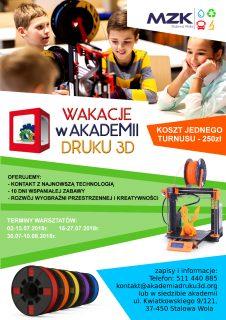 Wakacje zAkademią Druku 3D
