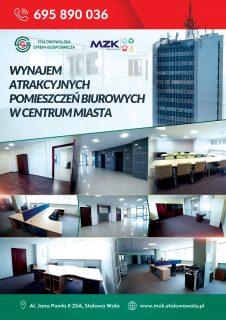 Atrakcyjne lokale biurowe dowynajęcia wSSG.