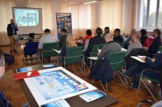 Dotacje unijne tematem spotkania dla lokalnych przedsiębiorców wKuźni Przedsiębiorczości.