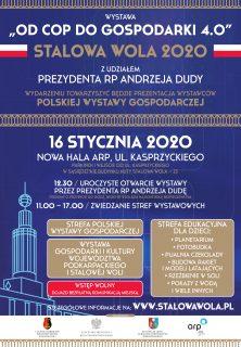 Polska Wystawa Gospodarcza wStalowej Woli. 16 stycznia warto być znami.