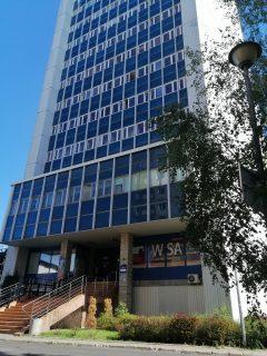 Biurowiec SSG znowym parkingiem dla najemców