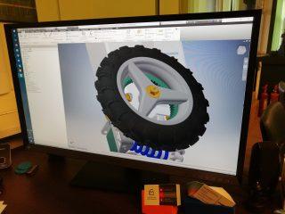 WInkubatorze powstaje prototyp elektrycznej deskorolki of-roadowej